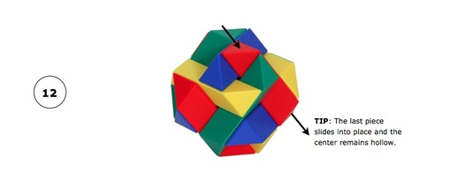 Tetraxis Puzzle Assembly