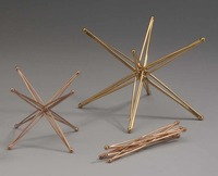 Tetraxis foldable metal star