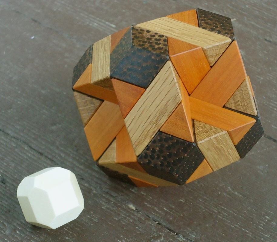 Chamfered Cube Puzzle