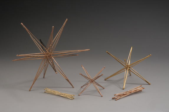 Tetraxis Stars and Six-Axis Star by John M. Kostick