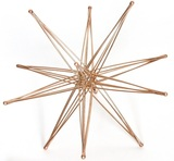 folding metal wire star